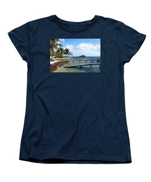 Shoreline Women's T-Shirt (Standard Cut) by Lawrence Burry