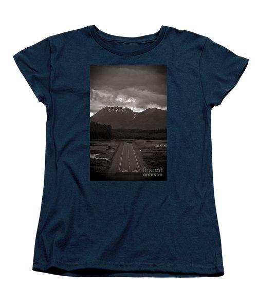 Short Runway Women's T-Shirt (Standard Cut) by Darcy Michaelchuk