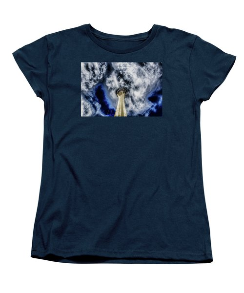 Women's T-Shirt (Standard Cut) featuring the photograph Shout by Michael Rogers