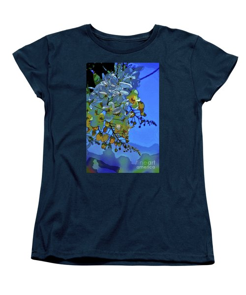 Shower Tree Exposed Women's T-Shirt (Standard Cut) by Craig Wood