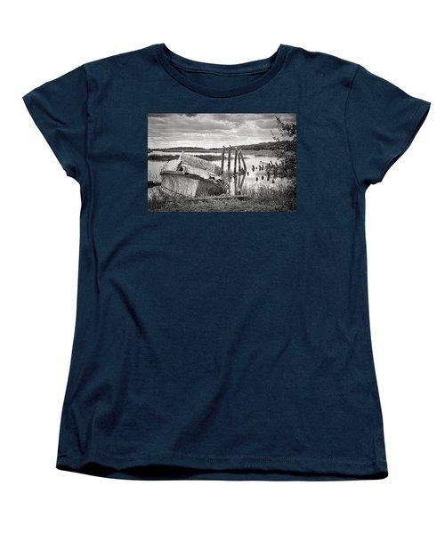 Shrimp Boat Graveyard Women's T-Shirt (Standard Cut)