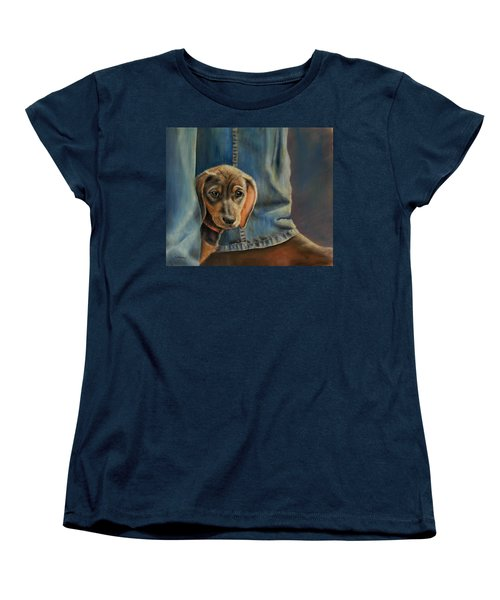 Shy Boy Women's T-Shirt (Standard Cut) by Ceci Watson