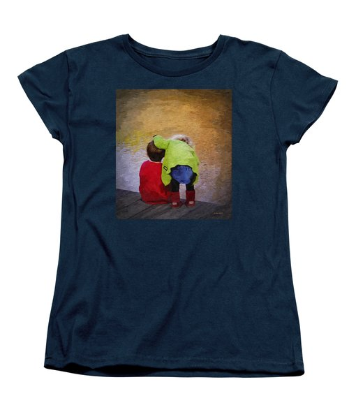 Sibling Love Women's T-Shirt (Standard Cut) by Brian Wallace