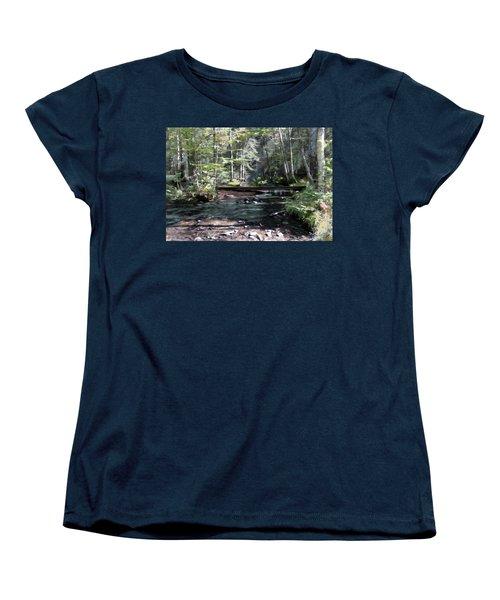 Side Brook Women's T-Shirt (Standard Cut)