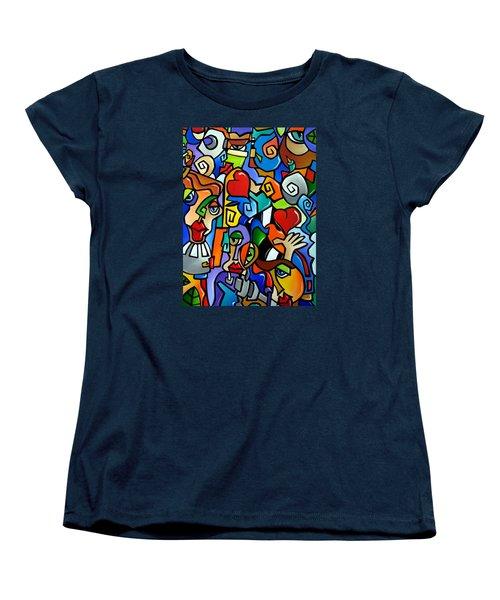Side Show Women's T-Shirt (Standard Cut) by Tom Fedro - Fidostudio