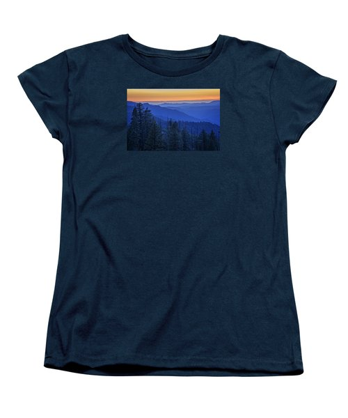 Sierra Fire Women's T-Shirt (Standard Cut) by Rick Berk