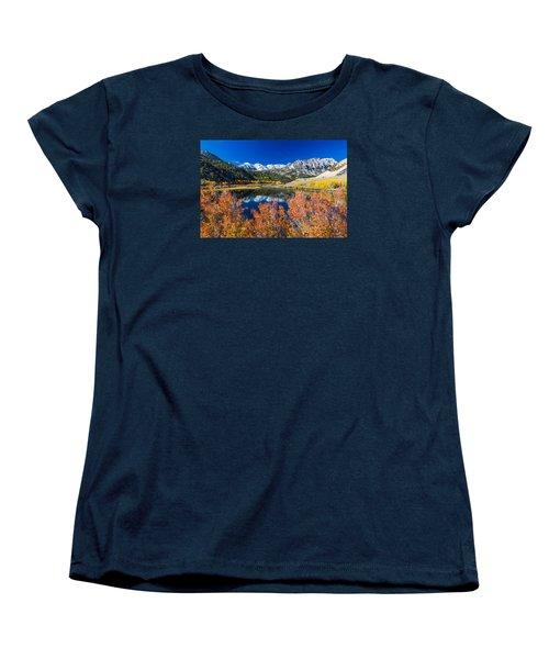 Sierra Foliage Women's T-Shirt (Standard Cut) by Tassanee Angiolillo