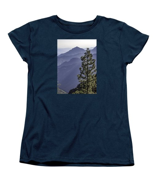 Women's T-Shirt (Standard Cut) featuring the photograph Sierra Nevada Foothills by Steven Sparks