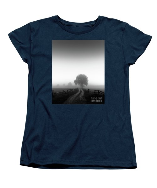 Silent Morning  Women's T-Shirt (Standard Cut) by Franziskus Pfleghart