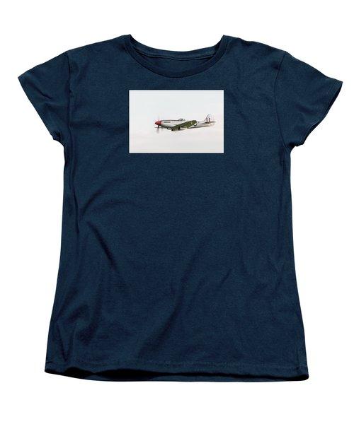 Silver Spitfire Fr Xviiie Women's T-Shirt (Standard Cut) by Gary Eason