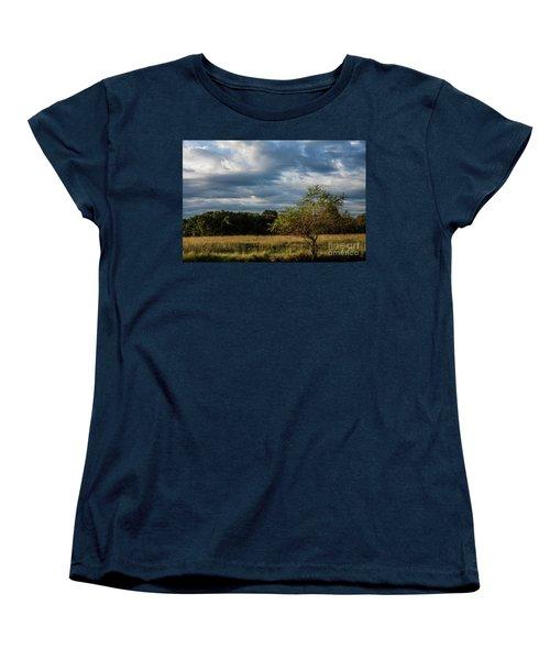 Simplicity Women's T-Shirt (Standard Cut) by Iris Greenwell