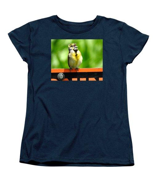 Singing Dickcissel Women's T-Shirt (Standard Cut)