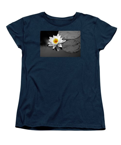 Women's T-Shirt (Standard Cut) featuring the photograph Single Lily by Shari Jardina