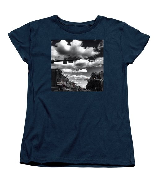 Women's T-Shirt (Standard Cut) featuring the photograph Sip And Bite by Toni Martsoukos