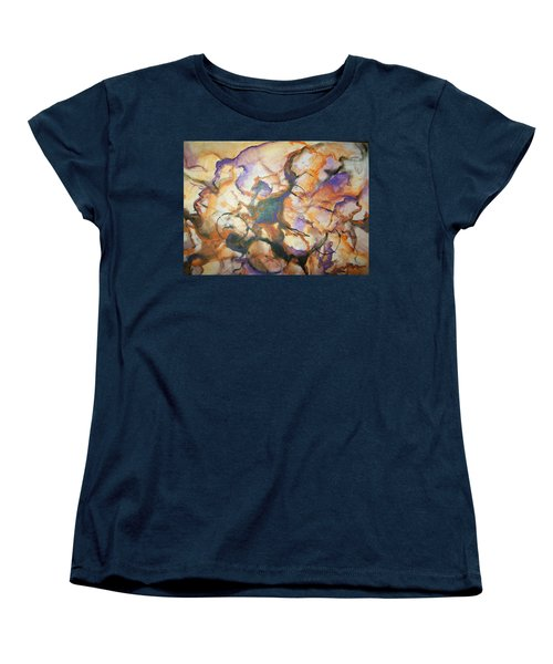 Sistaz Women's T-Shirt (Standard Cut) by Raymond Doward