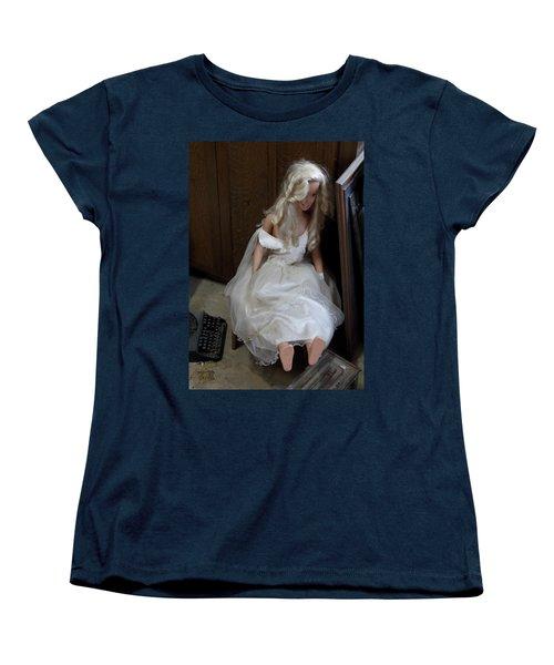 Sitting Doll Women's T-Shirt (Standard Cut) by Viktor Savchenko