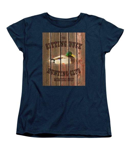 Sitting Duck Hunting Club Women's T-Shirt (Standard Cut)