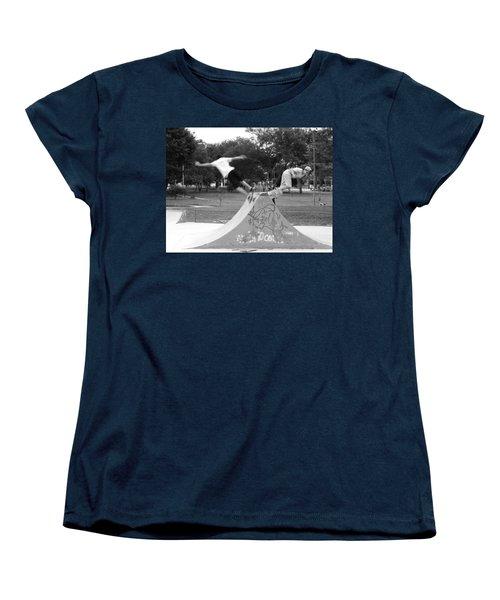 Skate Ballet Women's T-Shirt (Standard Cut) by Beto Machado