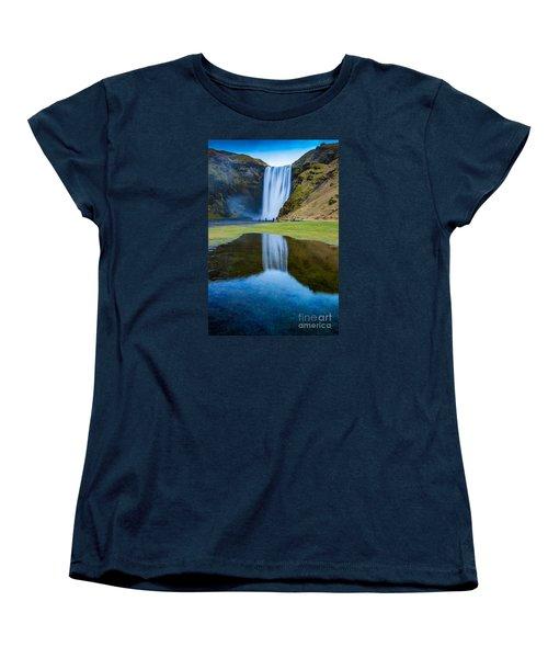 Skogafoss 2 Women's T-Shirt (Standard Cut) by Mariusz Czajkowski