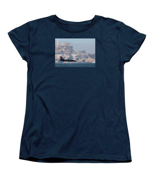 Skimming The Bay Women's T-Shirt (Standard Cut)