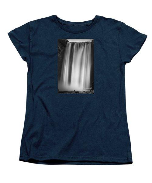 Skogarfoss Iceland Women's T-Shirt (Standard Cut) by Gunnar Orn Arnason