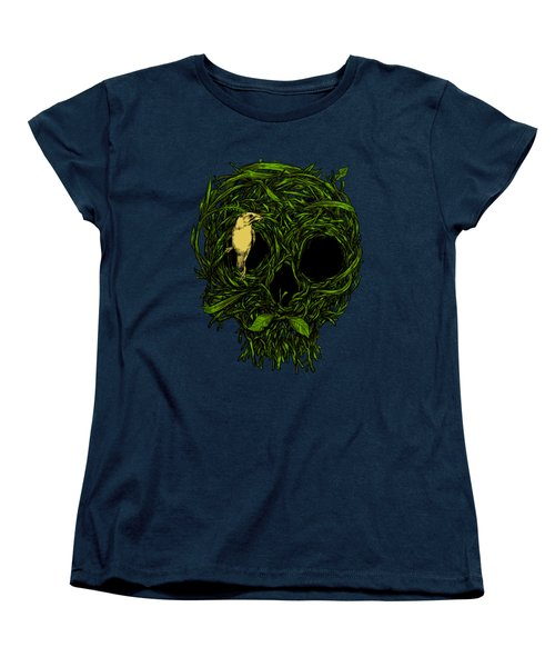 Skull Nest Women's T-Shirt (Standard Cut)