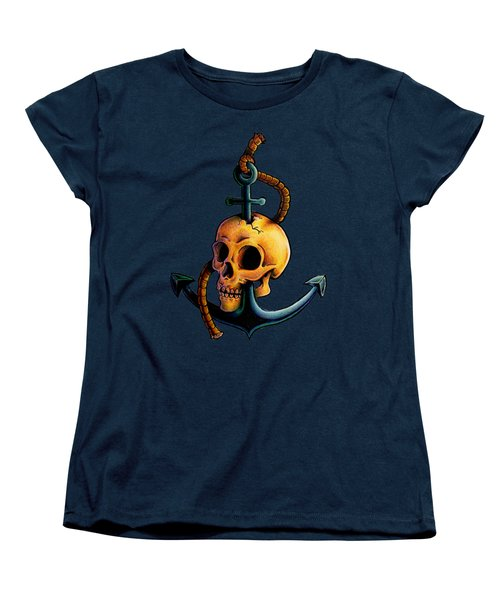 Skullchor Women's T-Shirt (Standard Cut) by Vicki Von Doom