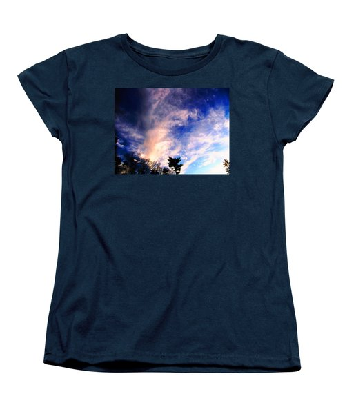 Sky Study 5 3/11/16 Women's T-Shirt (Standard Cut) by Melissa Stoudt