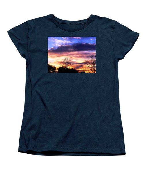 Women's T-Shirt (Standard Cut) featuring the photograph Sky Study 8 3/11/16 by Melissa Stoudt