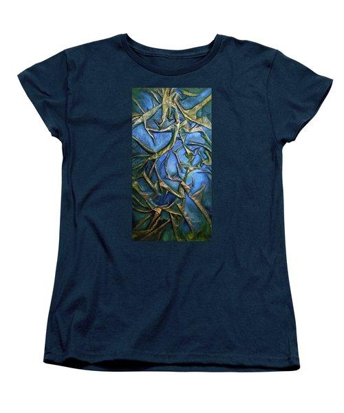 Sky Through The Trees Women's T-Shirt (Standard Cut)