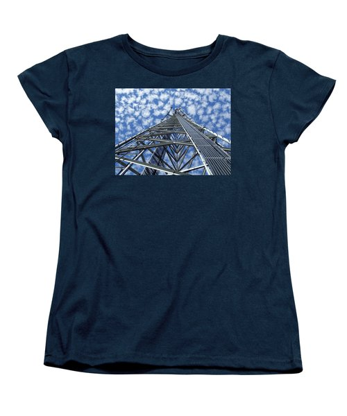 Sky Tower Women's T-Shirt (Standard Cut) by Robert Geary