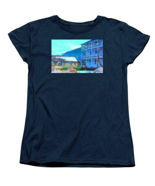 Skykomish  Women's T-Shirt (Standard Cut) by Tobeimean Peter