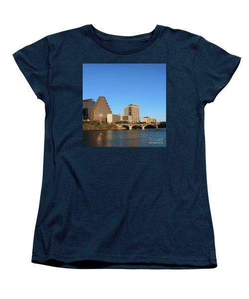 Skyline Atx Women's T-Shirt (Standard Cut) by Sebastian Mathews Szewczyk