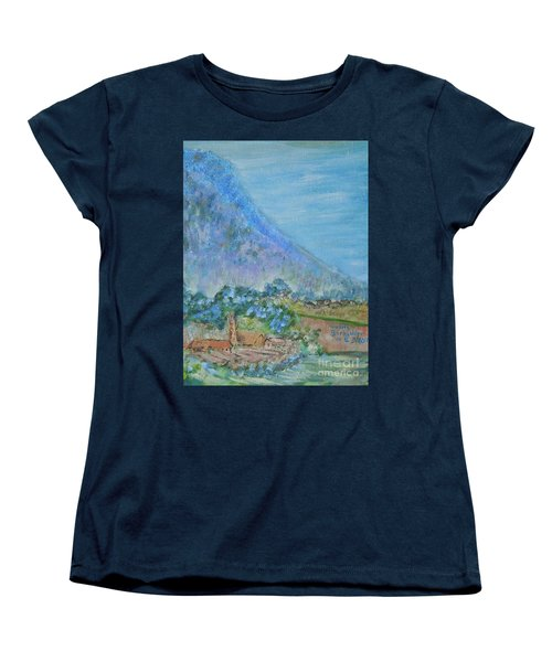 Skyline Drive Begins Women's T-Shirt (Standard Cut) by Judith Espinoza