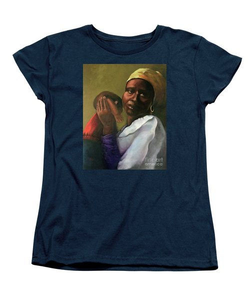Women's T-Shirt (Standard Cut) featuring the painting Slaughter Of The Innocents by Marlene Book