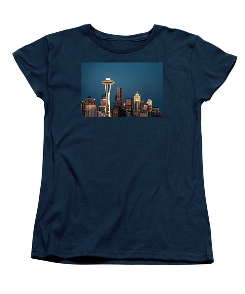 Women's T-Shirt (Standard Cut) featuring the photograph Sleepless In Seattle by Eduard Moldoveanu