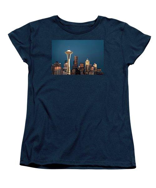 Sleepless In Seattle Women's T-Shirt (Standard Cut) by Eduard Moldoveanu