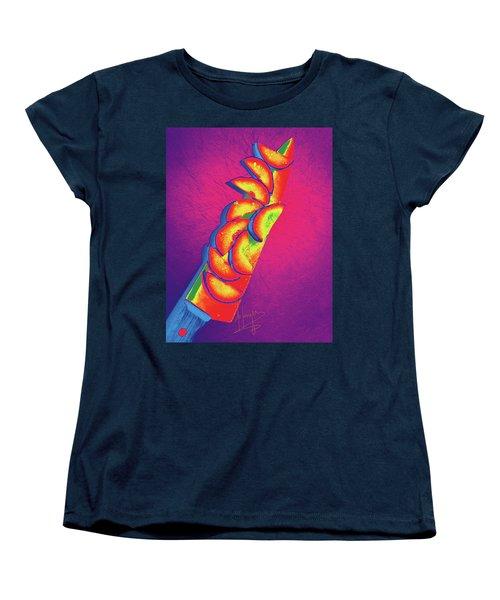 Slices Women's T-Shirt (Standard Cut) by DC Langer