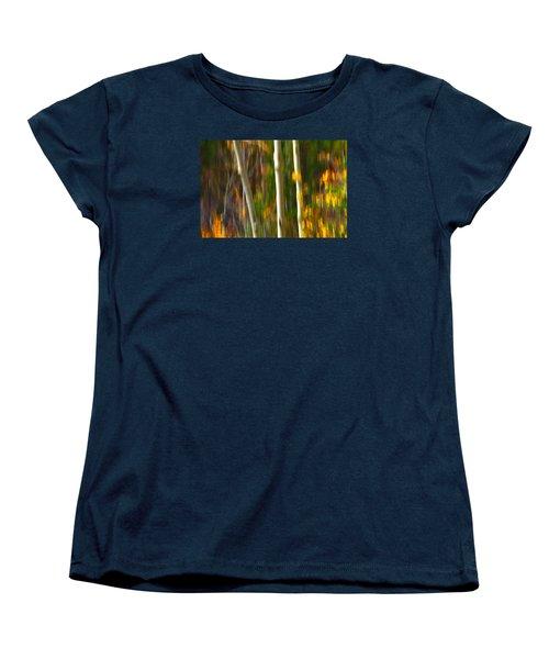 Slipping Through  Women's T-Shirt (Standard Cut) by Mark Ross