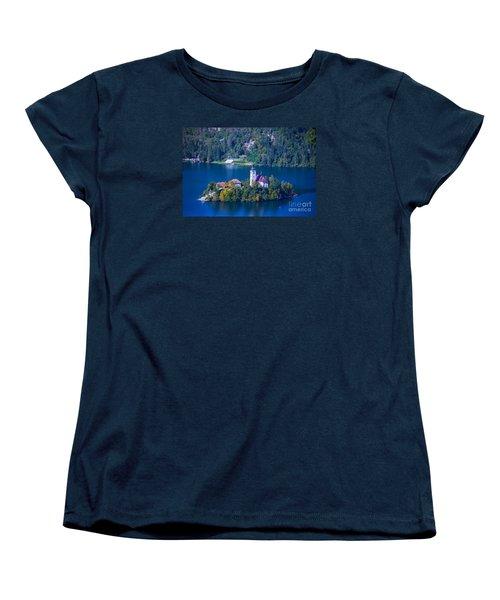 Slovenia Europe Women's T-Shirt (Standard Cut) by Mariusz Czajkowski