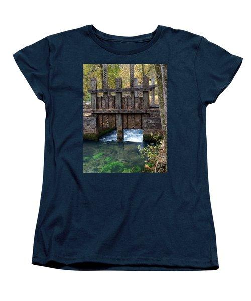 Sluce Gate Women's T-Shirt (Standard Cut) by Marty Koch