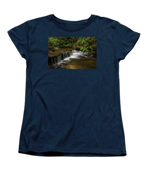Small Cascade On Pounder Branch. Women's T-Shirt (Standard Cut)