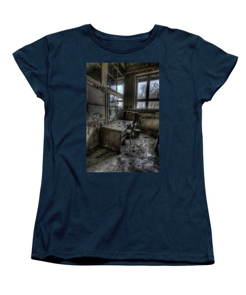 Women's T-Shirt (Standard Cut) featuring the digital art Small Office by Nathan Wright