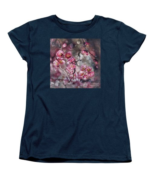 Small Universe Women's T-Shirt (Standard Cut) by Agnieszka Mlicka