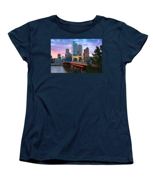 Smithfield Street Bridge Women's T-Shirt (Standard Cut) by Emmanuel Panagiotakis
