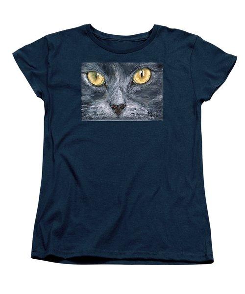 Smokey Women's T-Shirt (Standard Cut) by Mary-Lee Sanders