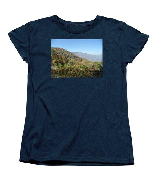Smokies 11 Women's T-Shirt (Standard Cut) by Val Oconnor