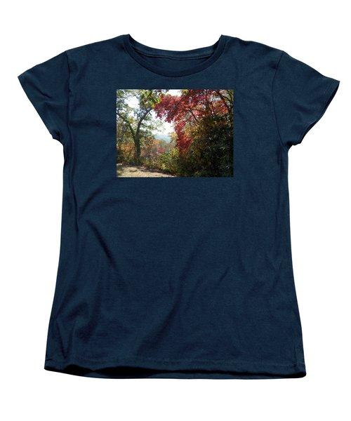 Smokies 13 Women's T-Shirt (Standard Cut) by Val Oconnor