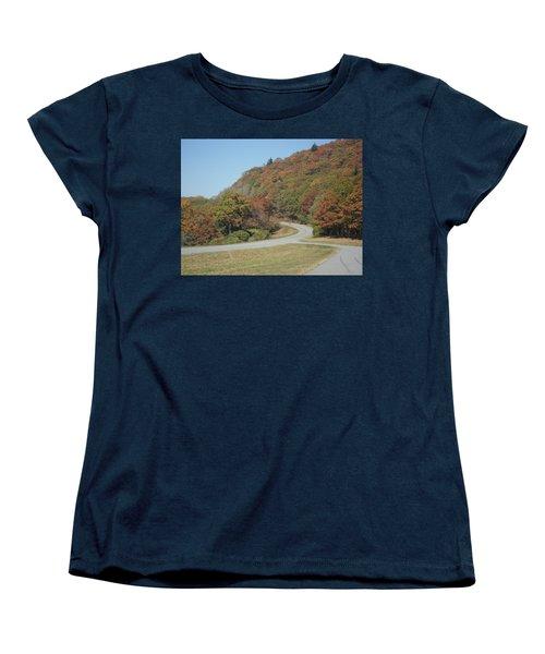 Smokies 9 Women's T-Shirt (Standard Cut) by Val Oconnor