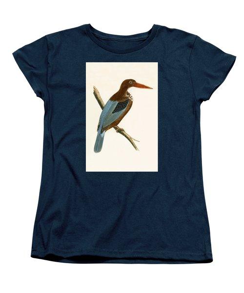 Smyrna Kingfisher Women's T-Shirt (Standard Cut) by English School